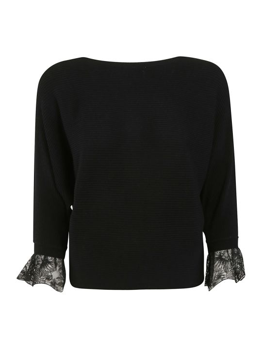 Chloé Ruffled Cuff Sweater