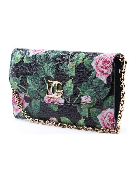 Dolce & Gabbana Chain Wallet Rose