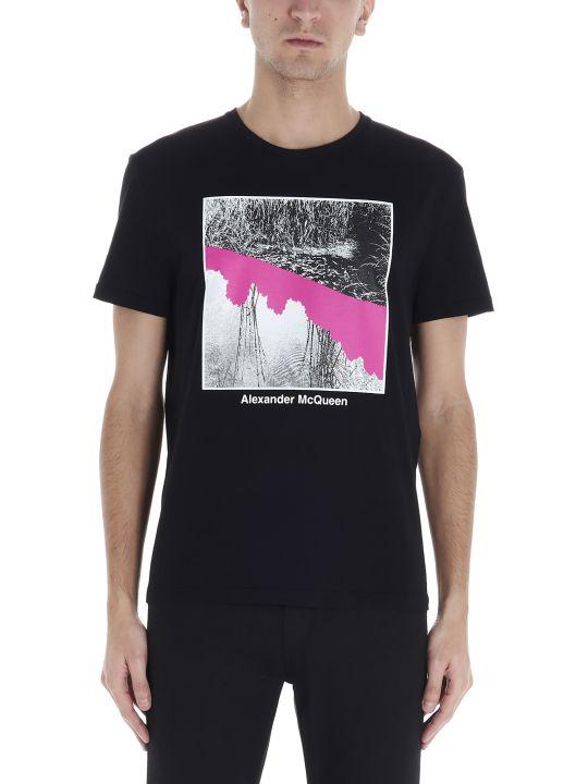 Alexander McQueen 'japan Blossom' T-shirt