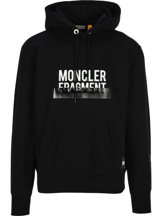 Moncler Fragment Moncler Fragment Logo Hoodie
