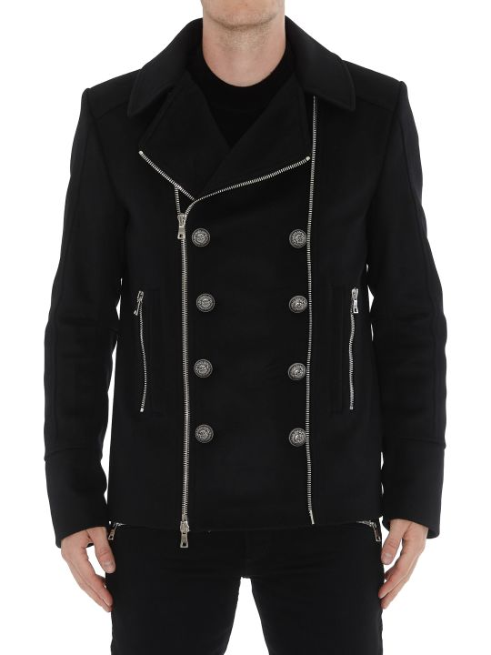 Balmain Zipped Coat