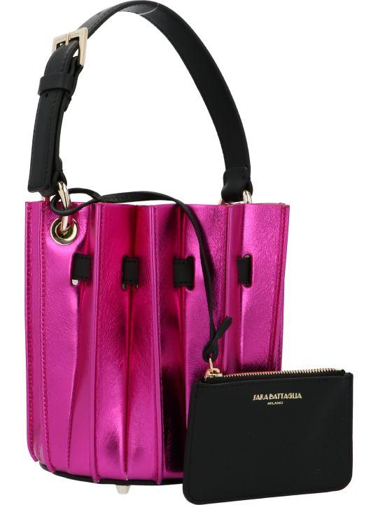 Sara Battaglia 'mini Plissè' Bag