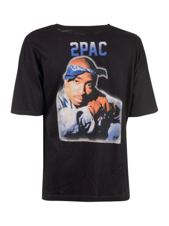 Les Artists 2pac Print T-shirt
