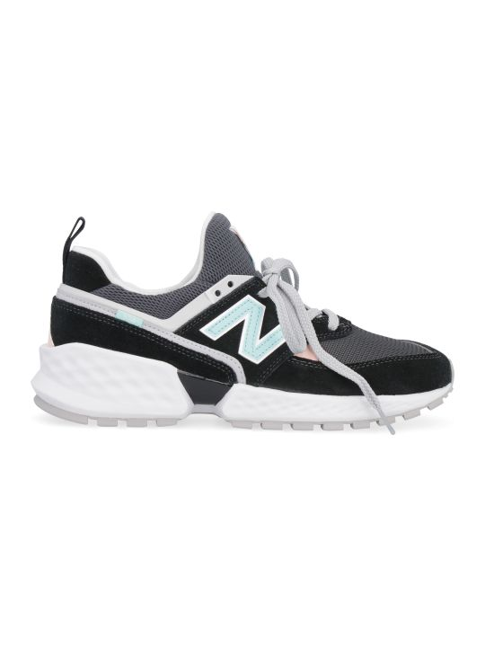 New Balance 574 Sport Suede And Mesh Sneakers