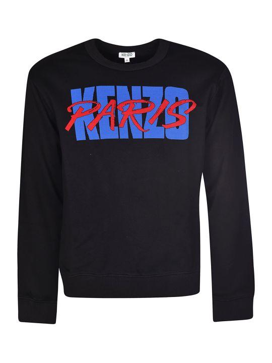Kenzo Paris Logo Print Sweatshirt