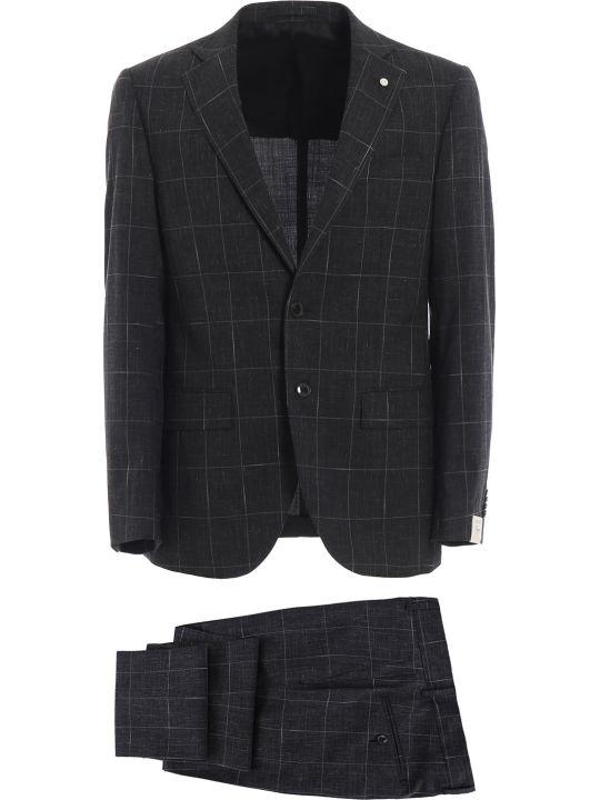 Luigi Bianchi Mantova Check Suit