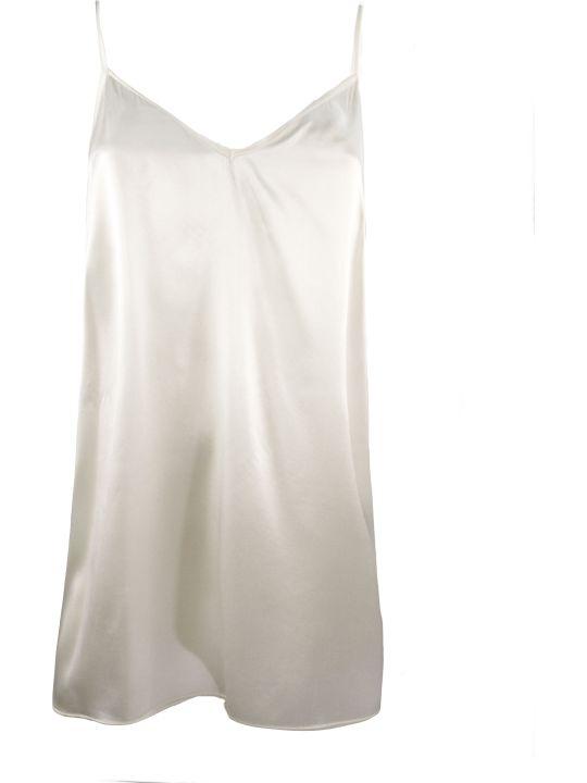 Federica Tosi White Silk Tank