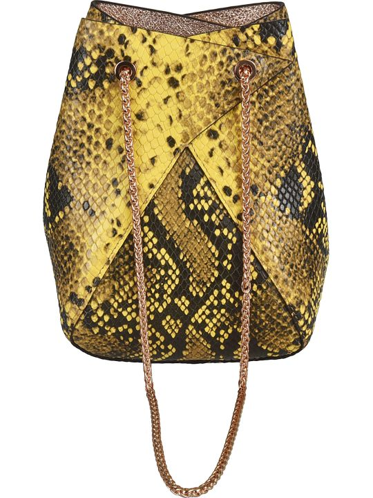 the VOLON Mini Mani Bucket Bag