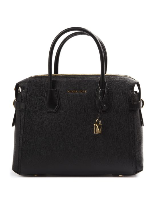 MICHAEL Michael Kors Black Medium Mercer Leather Bag