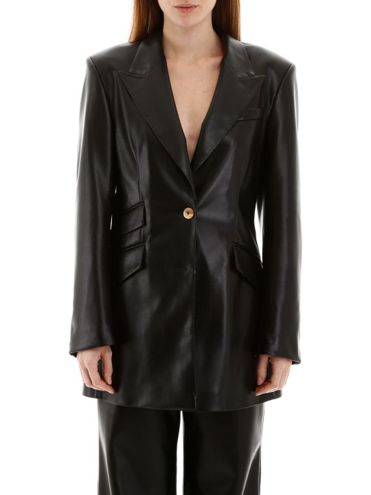 Nanushka Cancun Faux Leather Jacket