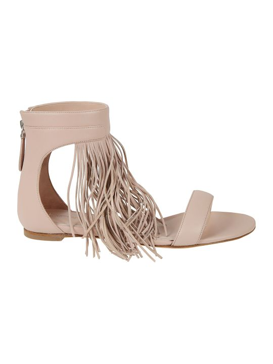 Alexander McQueen Fringed Detailed Sandals