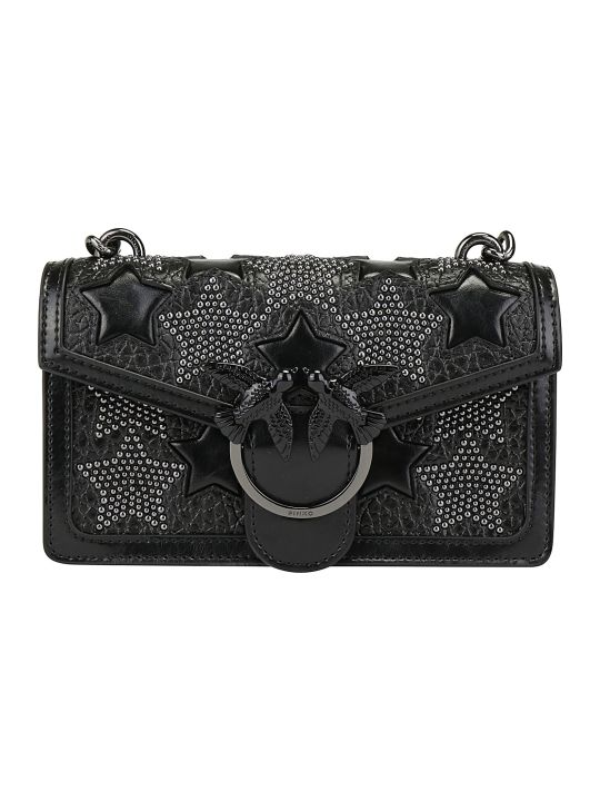 Pinko Mini Love Star Shoulder Bag