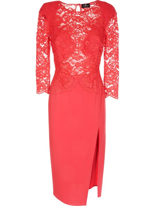 Elisabetta Franchi Celyn B. Elisabetta Franchi For Celyn B. Long Lace Dress