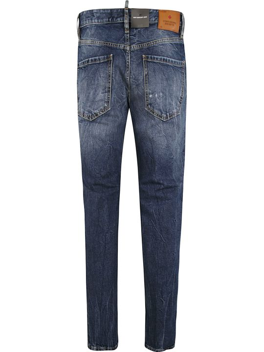 Dsquared2 Classic Fade Effect Jeans
