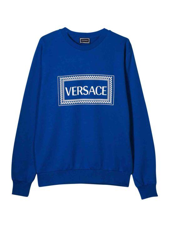 Young Versace Printed Sweatshirt