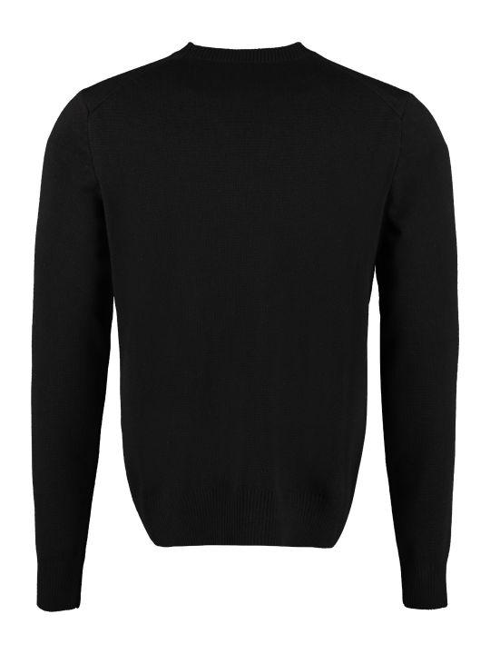 Ami Alexandre Mattiussi Merino Wool Crew-neck Sweater