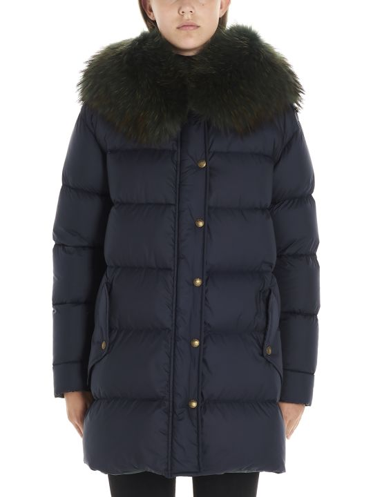 Mr & Mrs Italy 'a-line Puffer' Jacket