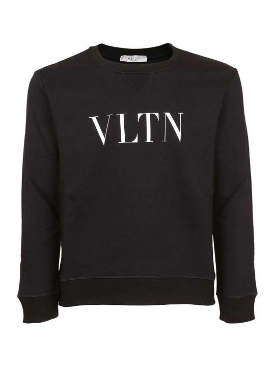 Valentino Vltn Print Sweatshirt