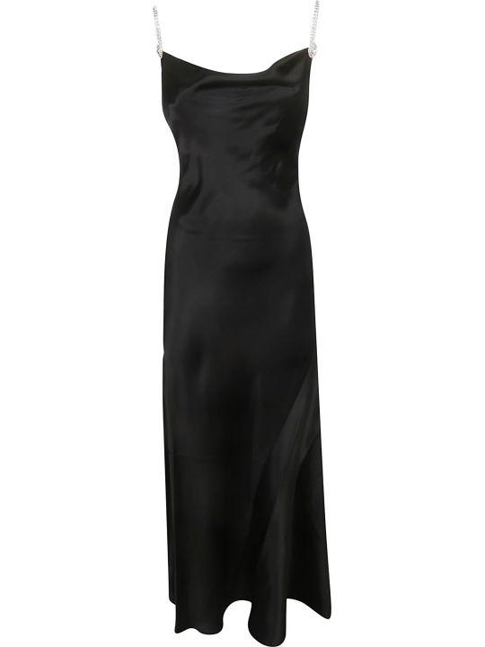 Alessandra Rich Embellished Strap Dress