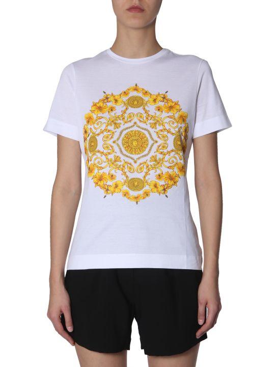 Versace Baroque Printed T-shirt