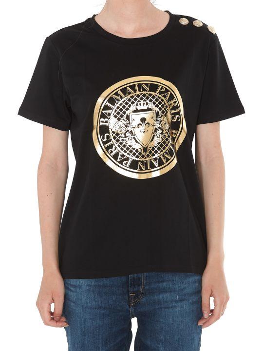 Balmain 3 Buttons Logo Coin T-shirt