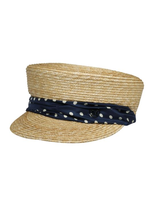 Maison Michel Abby 20ps Polka Hat