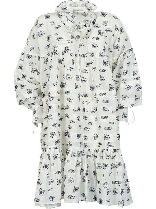 Cecilie Bahnsen Motif Print Oversized Dress