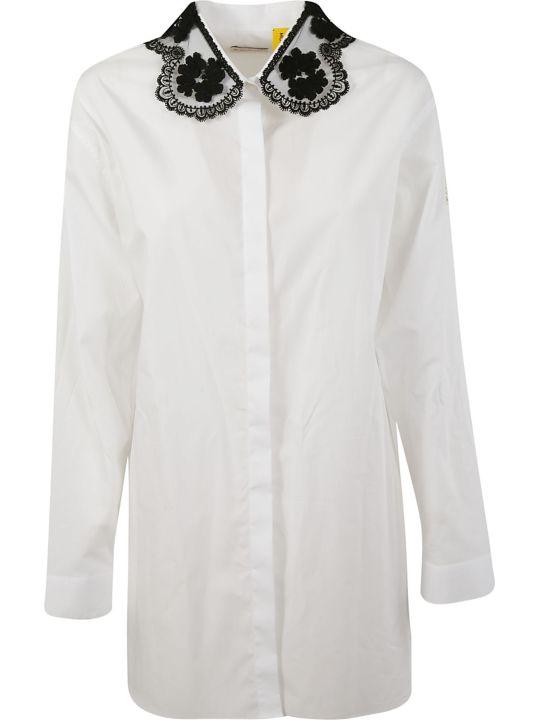 Moncler Genius Rocha Lace Collar Shirt