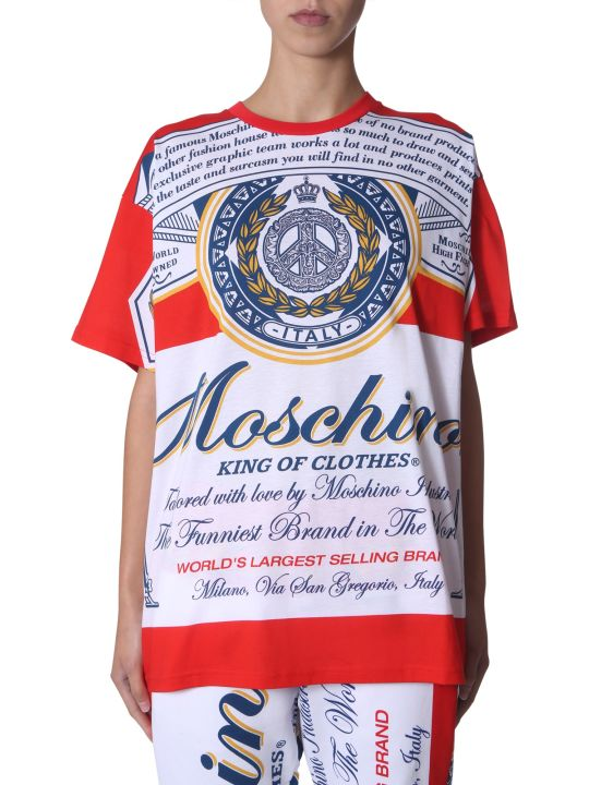 Moschino Oversize Fit T-shirt