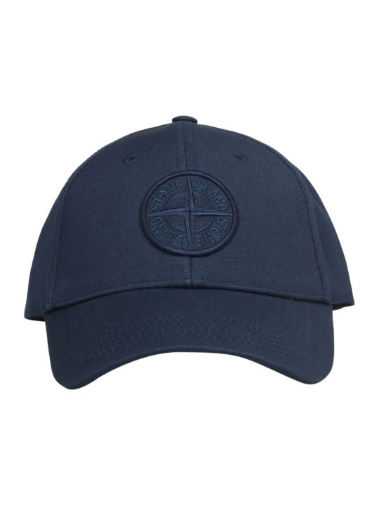 Stone Island Embroidered Baseball Cap