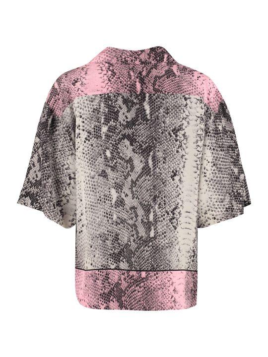 N.21 Printed Silk Shirt