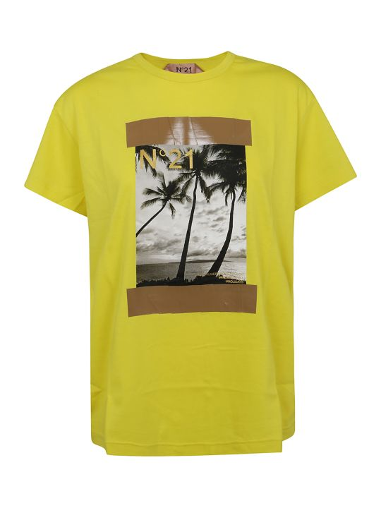 N.21 Graphic Photo Print T-shirt