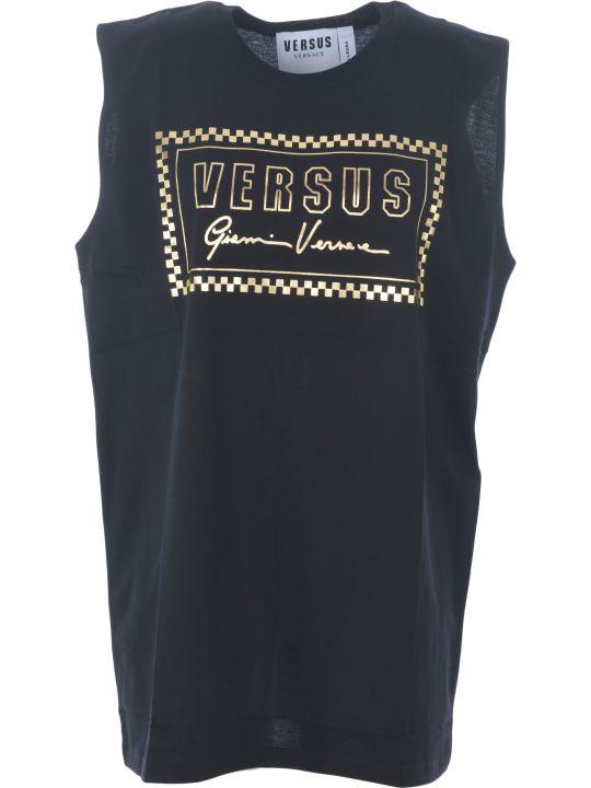 Versus Versace Logo Print Tank Top