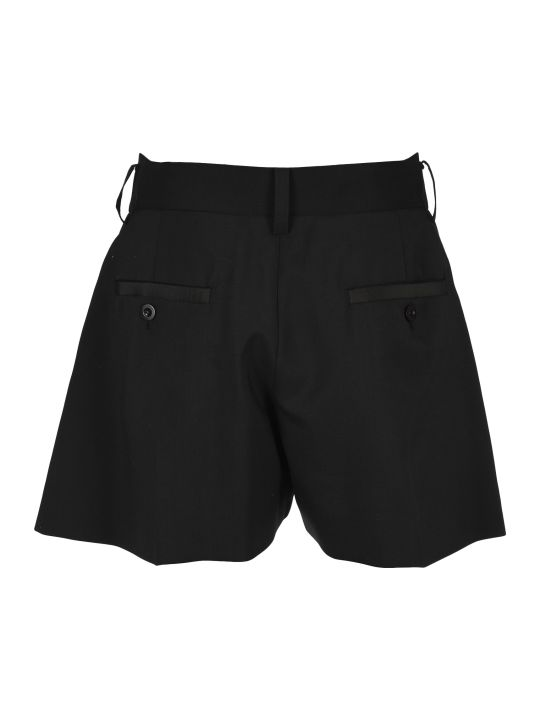 Sacai Asymmetric Shorts