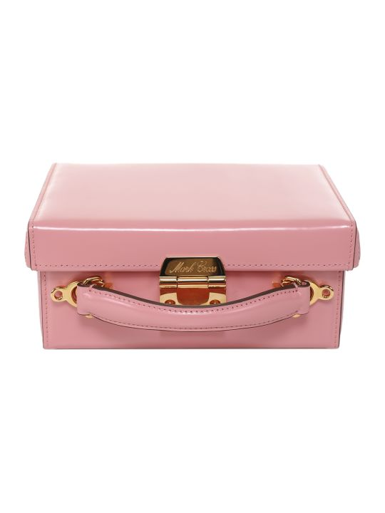 Mark Cross Pink Grace Small Box Bag