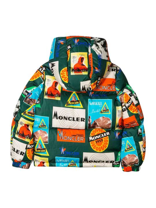 Moncler Printed Padded Jacket