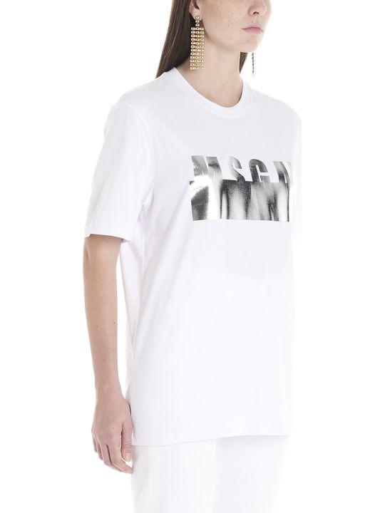 MSGM 'logo Metal' T-shirt