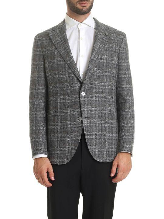 Luigi Bianchi Mantova Striped Blazer
