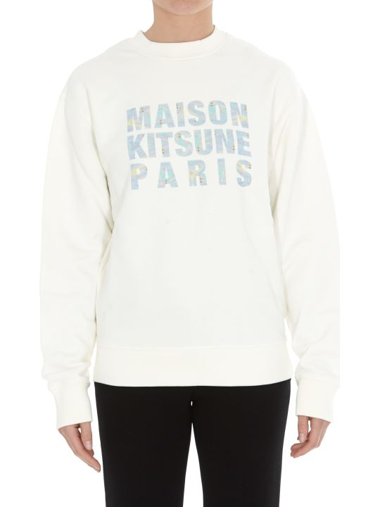 Maison Kitsuné Hologram Logo Sweatshirt