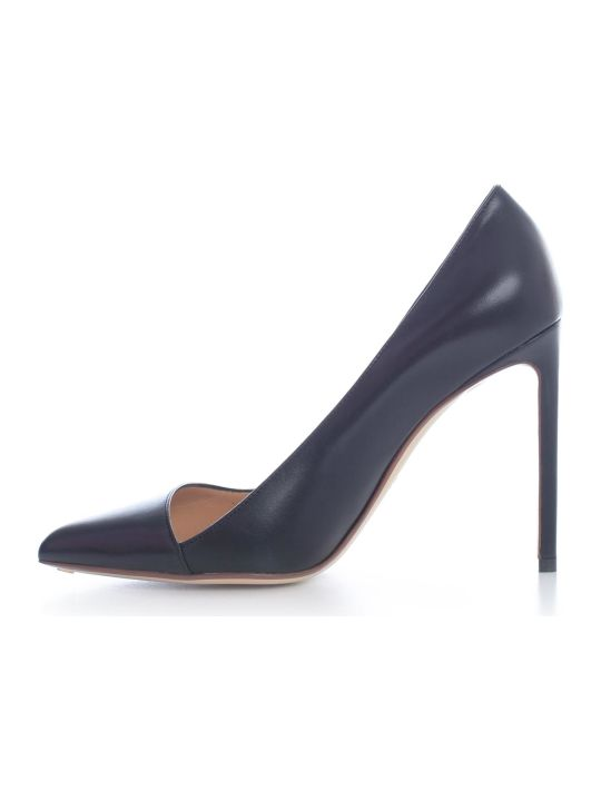 Francesco Russo Pumps Kid Leather 105 Heel