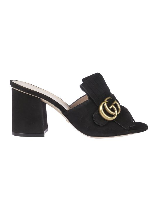 Gucci Mid Heel Sandals