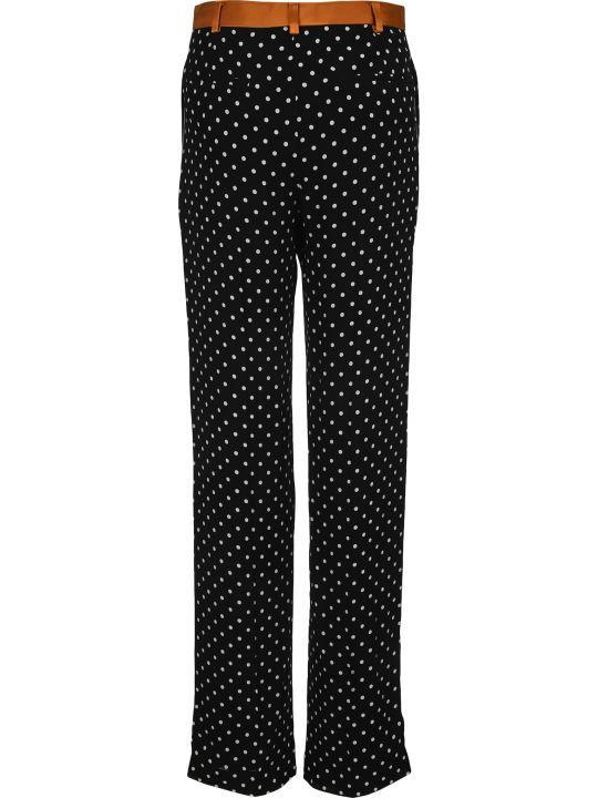 Haider Ackermann Straight Leg Polka Dot Trousers