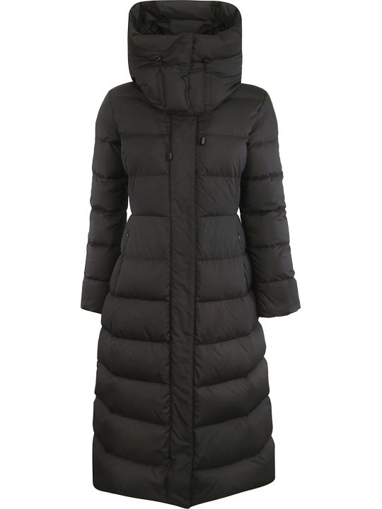 Aspesi Hooded Long Padded Coat