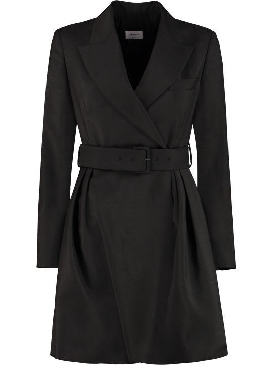 Salvatore Ferragamo Asymmetric Blazer Dress