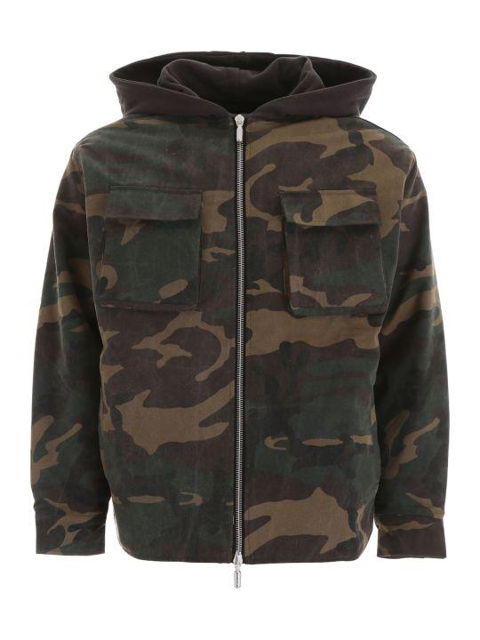 Rhude Camouflage Jacket