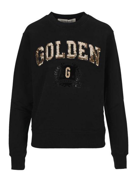 Golden Goose Sequin Logo Sweatshirt