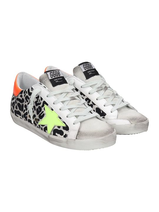 Golden Goose Superstar Sneakers In White Tech/synthetic