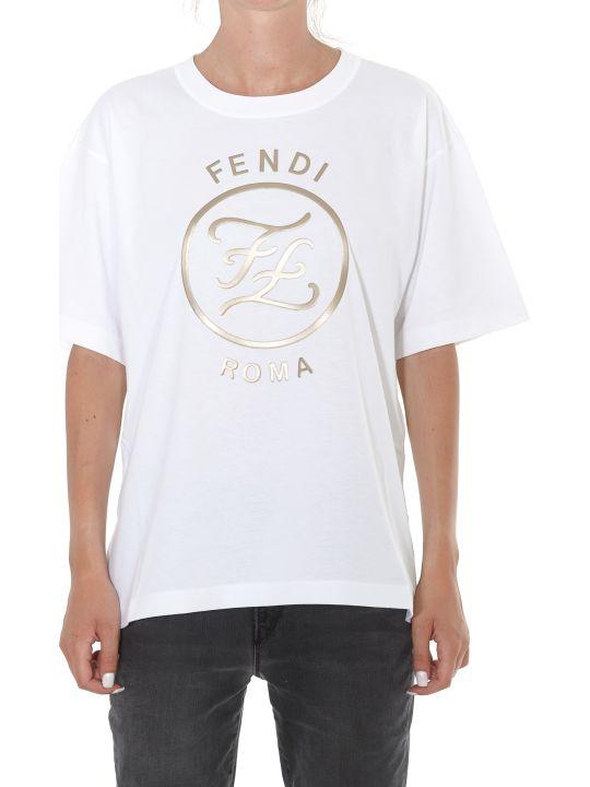 Fendi Karligraphy Logo Tshirt