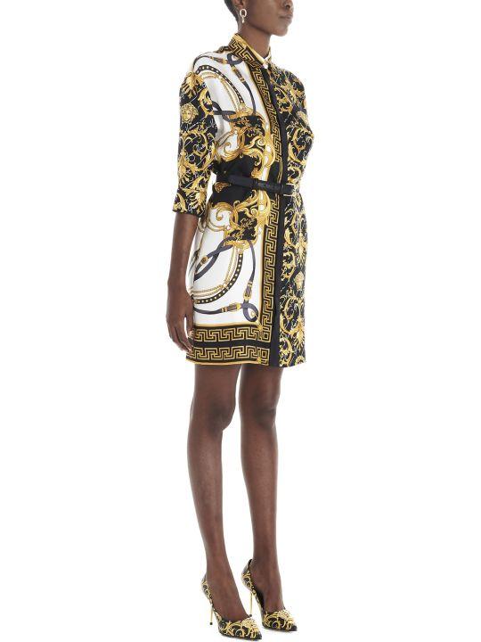 Versace 'heritage Signature Barocco' Dress