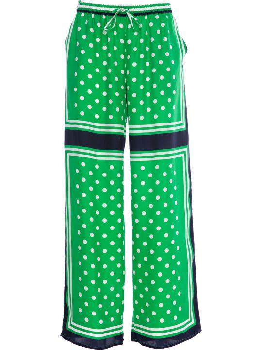 Parosh P.a.r.o.s.h. Silk Long Trousers